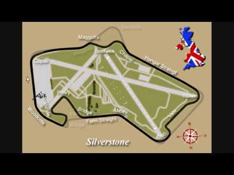 Formula One Circuit History Review 01 Silverstone HD