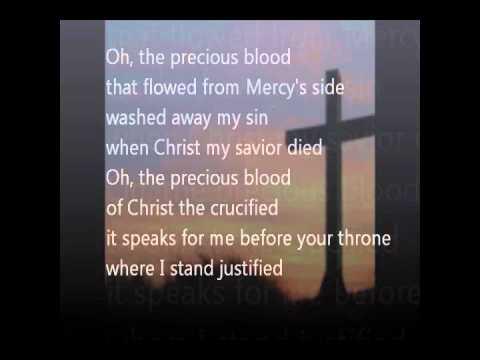 The Precious Blood with lyrics