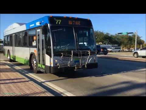 Miami Dade Transit Bus action around the city 2018 Part 1