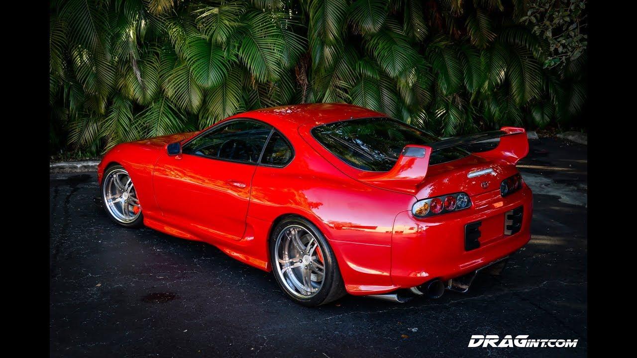 26636c04c980 DRAGint.com Shop Project 1275HP Supra MK4 Dyno Burnout - YouTube