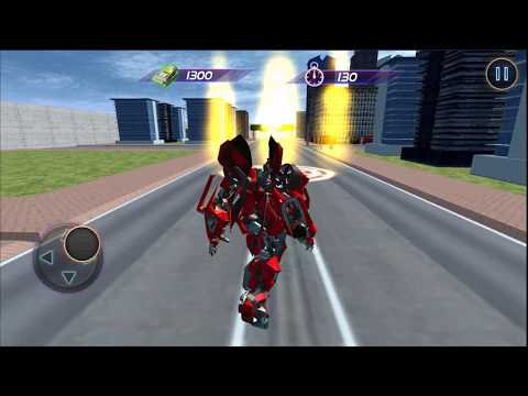 US Robot Police Transport Squad: Cargo Plane | Android Gameplay (Cartoon Games Network)