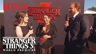Winona Ryder & David Harbour | Stranger Things 3 Premiere | Netflix