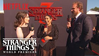 Winona Ryder & David Harbour | Stranger Things 3 Premiere | Netflix