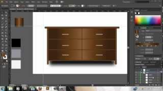 Illustrator Tutorial - Draw Vector Furniture