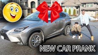PRANKING DEREK GERARD WITH A BRAND NEW CAR!!!
