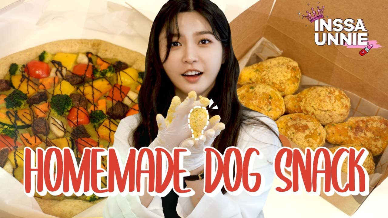 (With Sub) Homemade bhc bburinkle chicken and pizza for doggie🍗🍕?