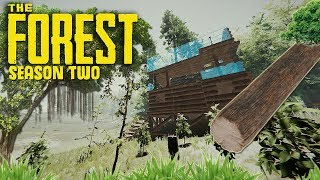 🔴 THE FOREST - S2 - Episode Five - Extending The Base