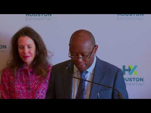 Mayor Turner Speaks at the Houston Exponential Venture Fund News Conference 10/11/2018