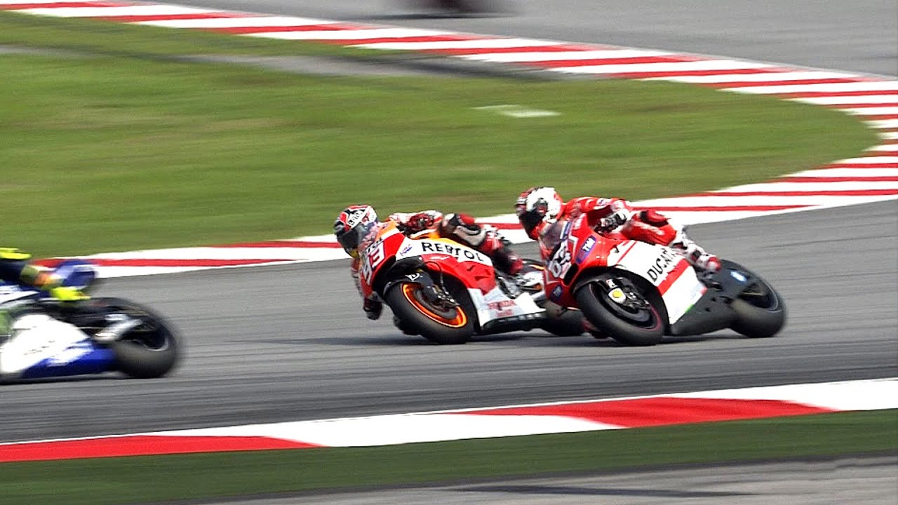 MotoGP™ Sepang 2014 – Best overtakes - YouTube