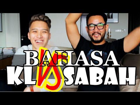 Bahasa KL vs Bahasa Sabah (feat. @SeanLJE)