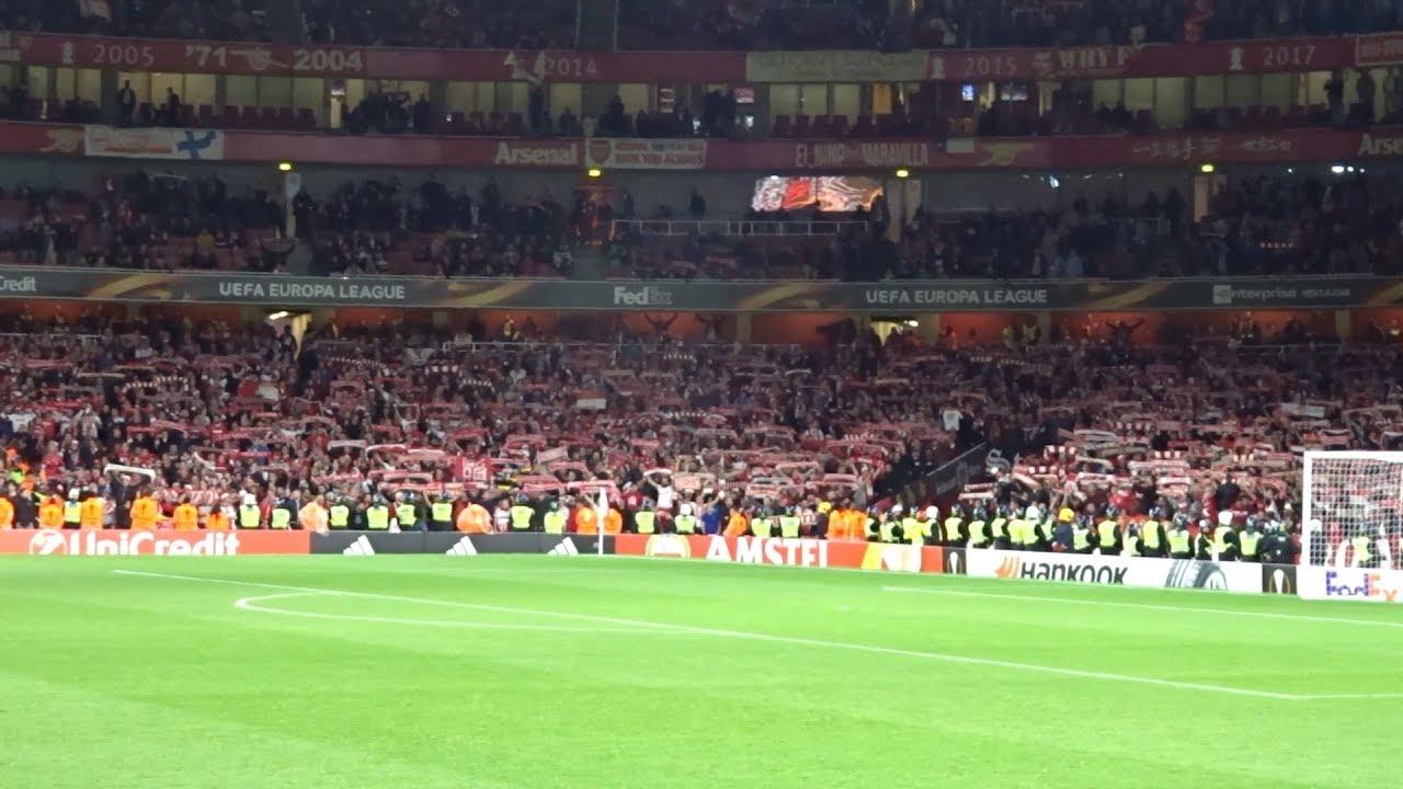 Arsenal London - 1. FC Köln / Stimmung der FC-Fans im ...