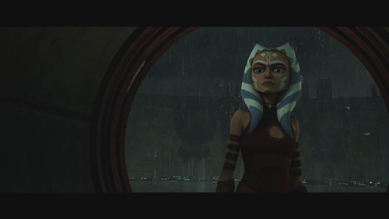 Star Wars: The Clone Wars - Anakin chases Ahsoka Tano in tunnels [1080p]