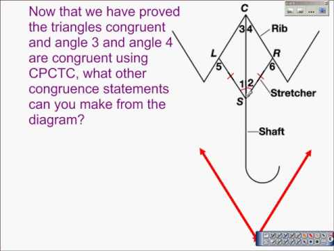 Using Corresponding Parts Of Congruent Triangles Are Congruent Youtube