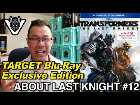 Exclusive Blu-Ray with ADDITIONAL content from Target - [ABOUT LAST KNIGHT #12]