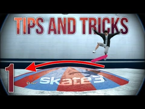 Skate 3 - Park Building Tips And Tricks Ep.1