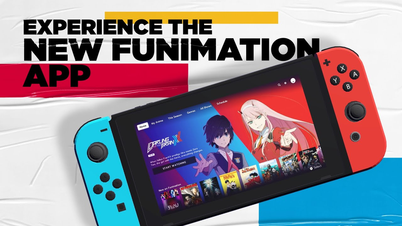 Download Check Out The NEW Funimation App for the Nintendo Switch