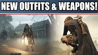 assassin s creed unity news new coop heists outfits weapons dead kings dlc ac unity gameplay