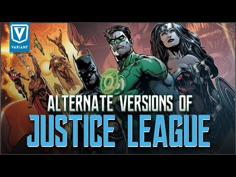 Alternate Versions Of The Justice League!