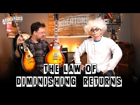 Guitars & The Law of Diminishing Returns with Prof Drew Bypass