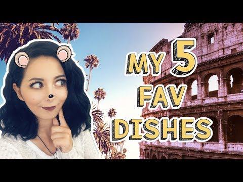 MY FAVORITE US AND ITALIAN DISHES (⊙ヮ⊙)