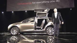 Tesla Model X official reveal