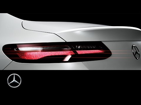 The new E-Class Coupé – Teaser – Mercedes-Benz original