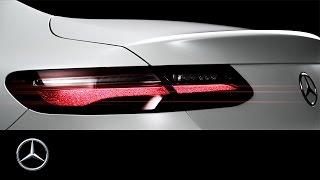 The new E Class Coupé – Teaser – Mercedes Benz original