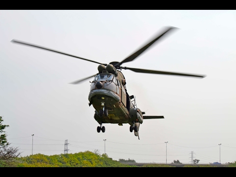 South African Air Force Oryx Helicopter Flight