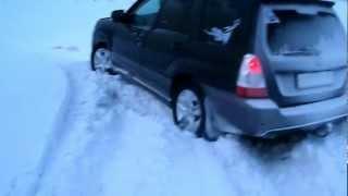 Subaru Forester In Snow
