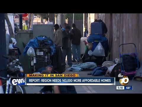 Making it in San Diego: Region needs 143,000 new affordable homes