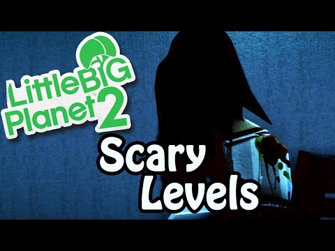 Little Big Planet 2 ★ SCARY LEVELS ★ Broken Wheel And Girl [Japanese Horror]