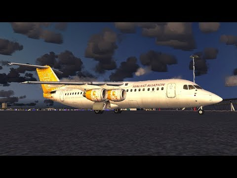 Warsaw Overload 2017  | Malmo Aviation Qualitywings RJ100  | Stockholm Bromma ESSB to Warsaw