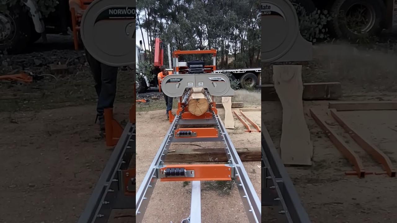 Lumbermate Lm29 Portable Sawmill