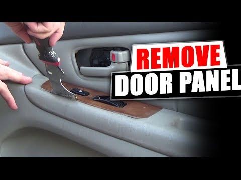 how-to-remove-the-front-door-panel-lexus-es300
