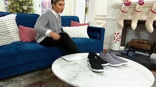 Reebok Knit Slip-On Sneakers -…