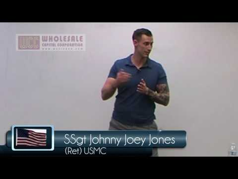 Johnny Joey Jones: Marine who Advocates for Wounded Veterans