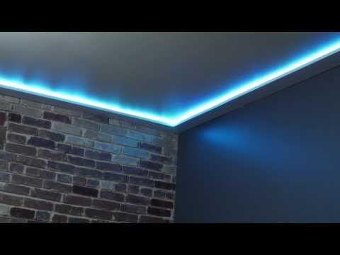 the diy rgb ceiling trim