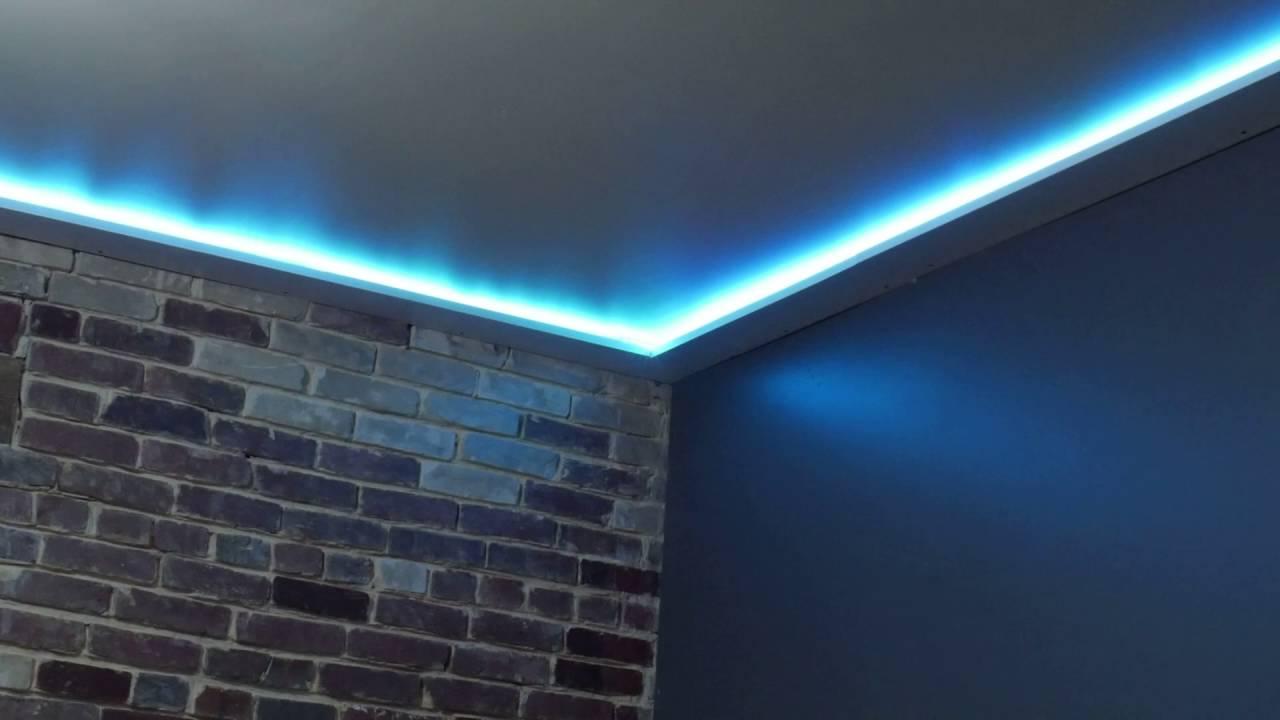 premium selection 3a242 a8d95 the diy rgb ceiling trim