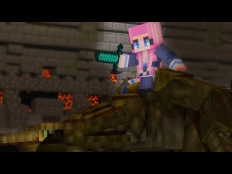 "NEW Minecraft Song  Psycho Girl 19 ""Make It"" A Minecraft song and Animation thumbnail"