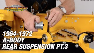 Part 3 Freeing Up Movement on 1964-77 A-Bodies Rear Suspension
