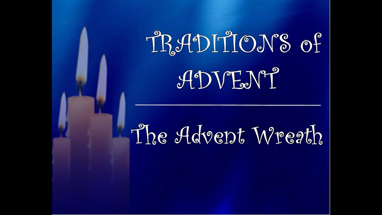 Traditions of advent the advent wreath youtube traditions of advent the advent wreath buycottarizona Image collections