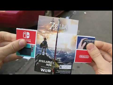 This Nintendo Switch advertisement lets you switch views