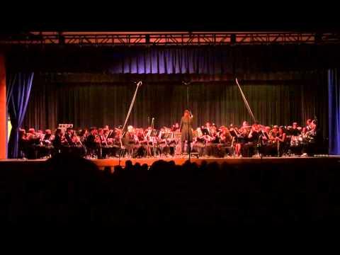 Frank Ticheli - Vesuvius / Ventura County Honor Band 2011