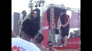Coca cola beach at South Padre!