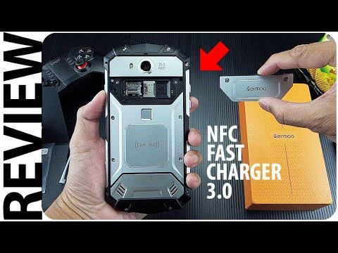 Hape Robot Kuat Nfc Fast Charger Wireless Charging Anti Air