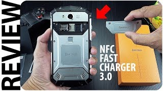 Hape ROBOT Kuat! NFC, Fast Charger, Wireless Charging, Anti Air, AERMOO M1 Indonesia