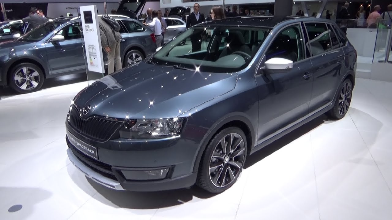 2016 - Skoda Rapid Spaceback - Exterior and Interior - IAA Frankfurt ...