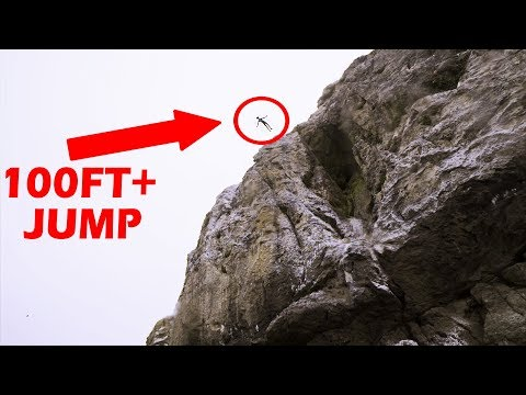 WE FOUND A CLIFF JUMP ISLAND! Exporing Oregon's Coast pt1