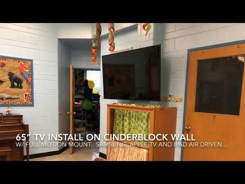 Evolution Installs @ Zion Lutheran Early Childhood Center - TV Install June 2019