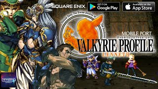Valkyrie Profile: Lenneth Mobile Gameplay (Android & IOS)